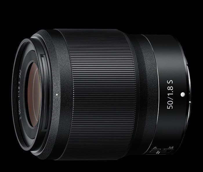 Nikkor Z 50mm f/1.8 S lente
