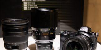 Nikkor Z 24-70mm f/2.8, 58mm f/0.95 Noct y14-30mm f/4.