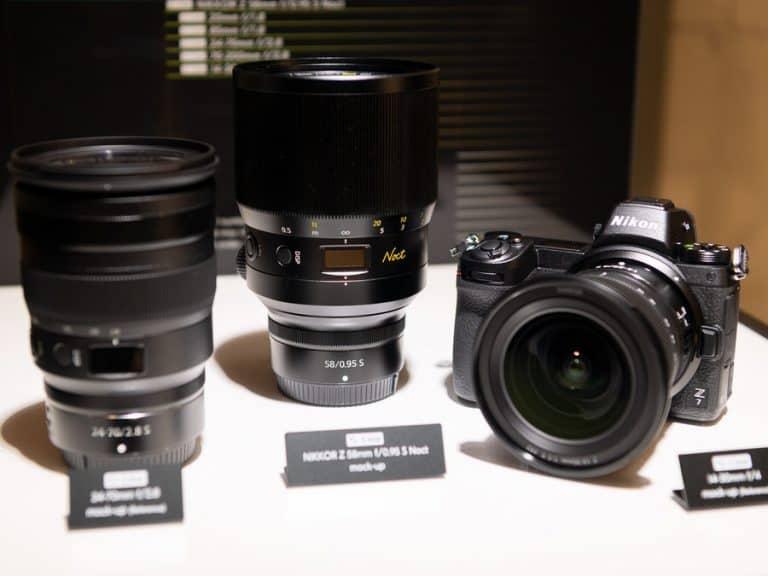 Fotos de los prototipos de las Nikkor Z 24-70m f/2.8 y 14-30mm f/4