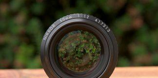 Nikkor 50mm f/1.2.