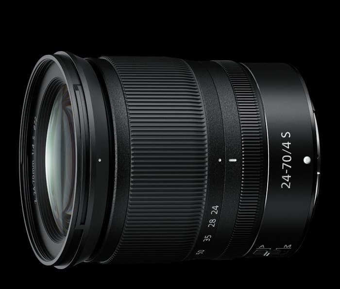 Nikkor Z 24-70mm F4 S lente