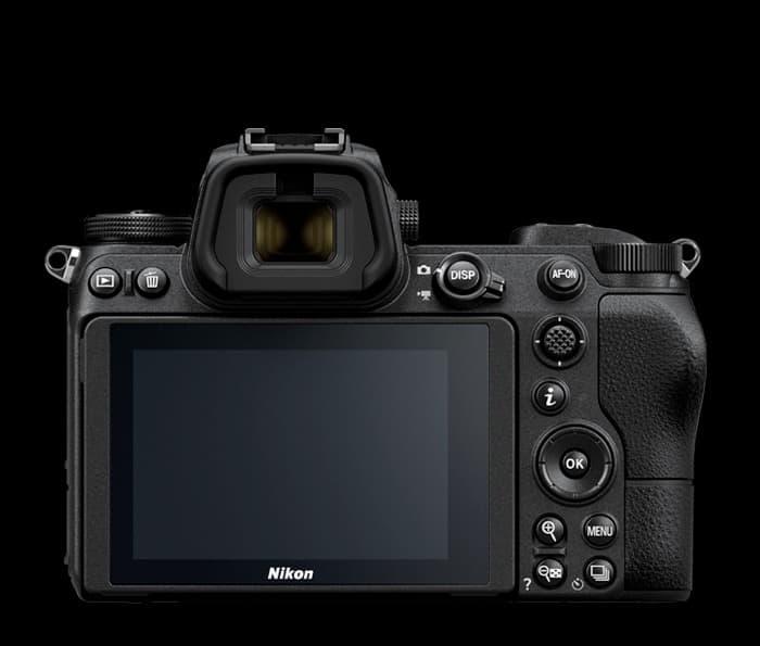 Nikon Z7 trasera