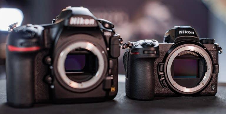 Comparación de características: Nikon Z6 vs Z7 vs D850