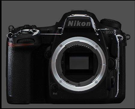 Nikon sin espejo comparada con la Nikon D500 © Issy Nomura