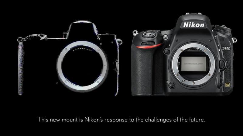 Nikon sin espejo comparada con la Nikon D750 © Eno
