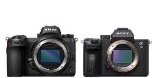 Nikon Z6 frente a Sony A7 III.