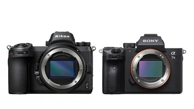 Comparativa de características: Nikon Z 6 frente a Sony A7 III