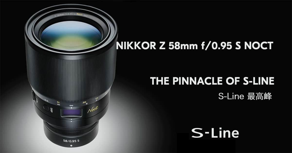 Nikkor Z 58mm f/0.95