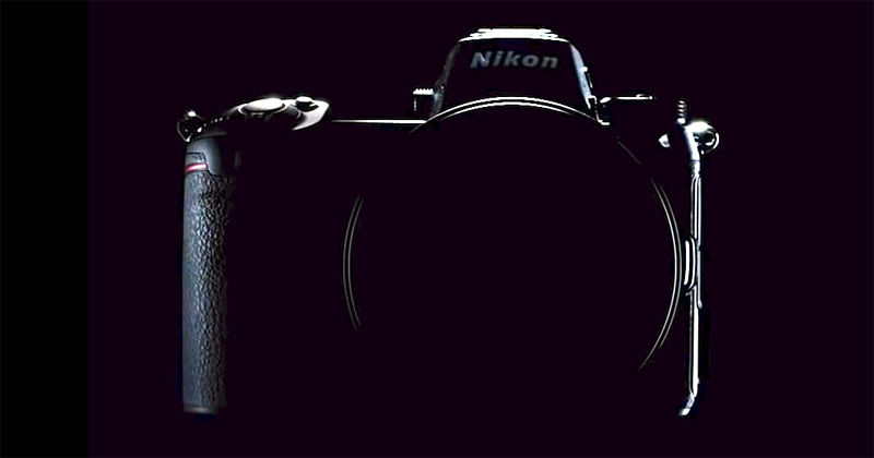 Silueta Nikon sin espejo full frame.