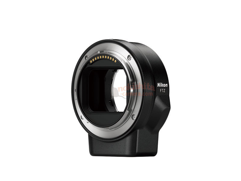 Adaptador Nikon FTZ.