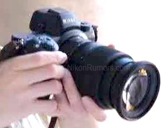 Nikon mirrorless filtrada.