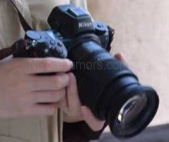 Primer plano filtración Nikon espejo.