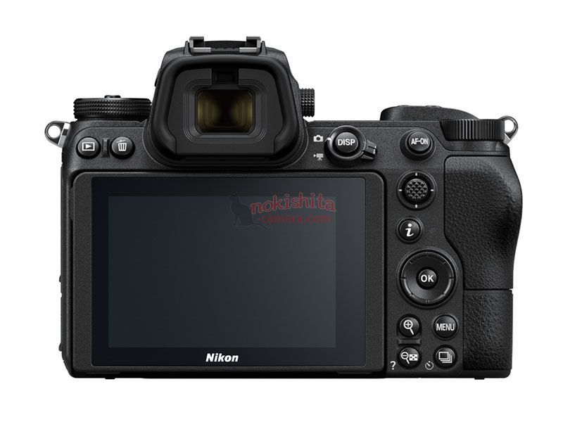 Nikon Z7 detrás