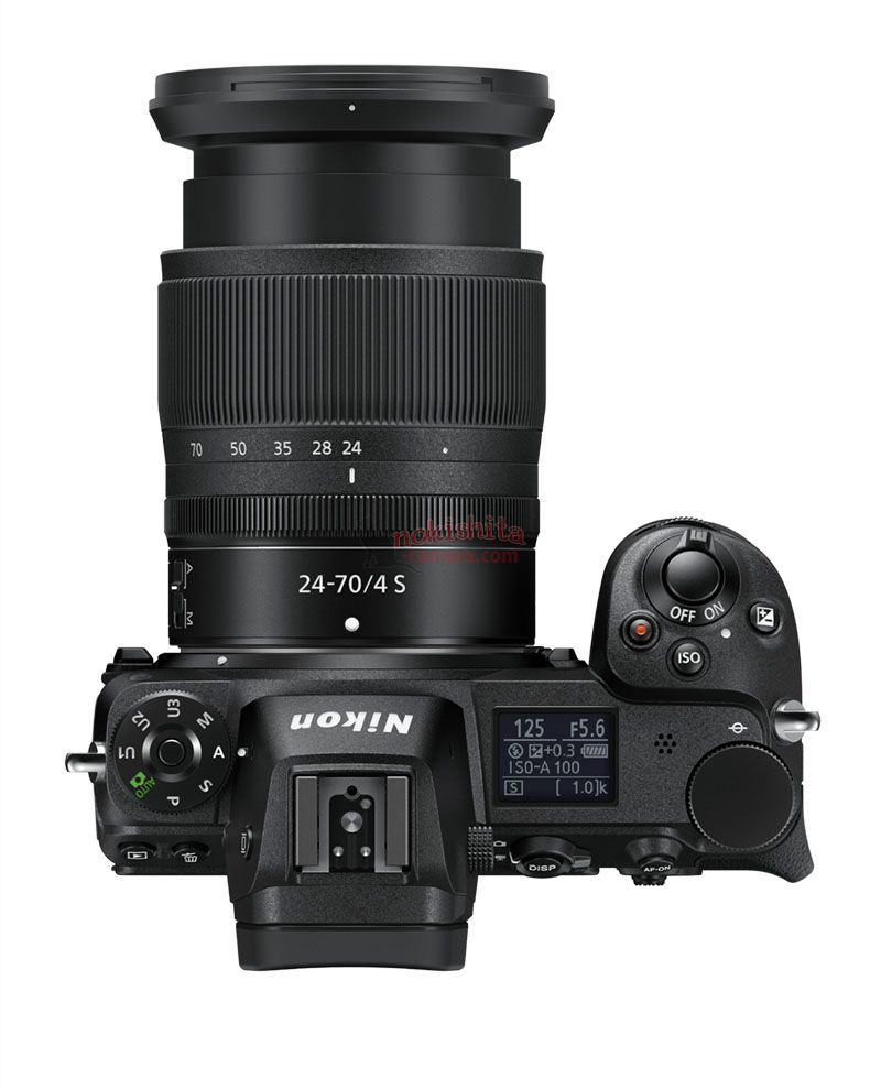 Nikon Z7 arriba zoom