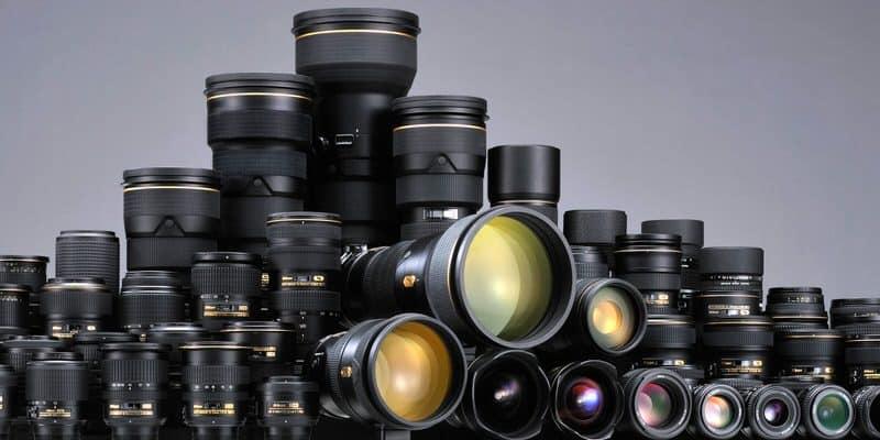 Catálogo de objetivos Nikkor.