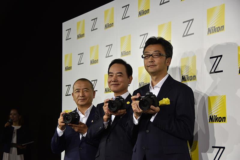 Presentación de la Nikon Z6 y Z7, vía PC Watch.