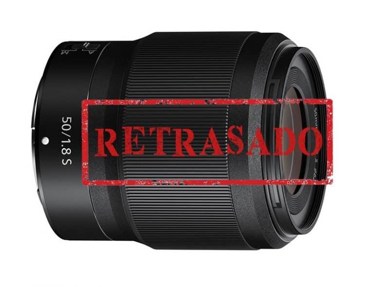 El Nikkor Z 50mm f/1.8 S retrasa su llegada hasta diciembre