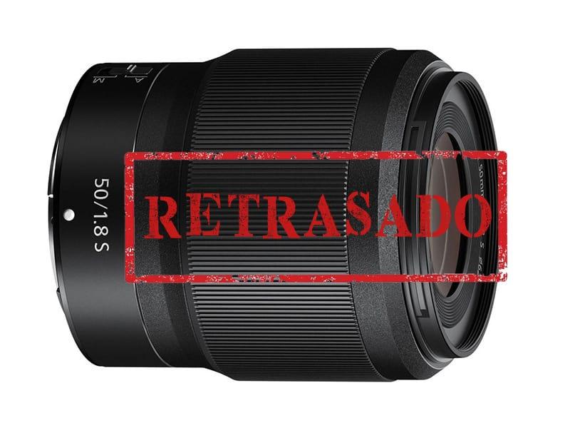 Retrasado Nikkor Z 50mm f/1.8 S.