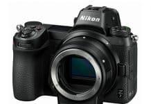 Nikon Z7 con el adaptador FTZ.