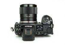 Nikon Z6 con el Sony FE 28mm f/1.8 conservando autoenfoque con el adaptador Techart TZE-01.
