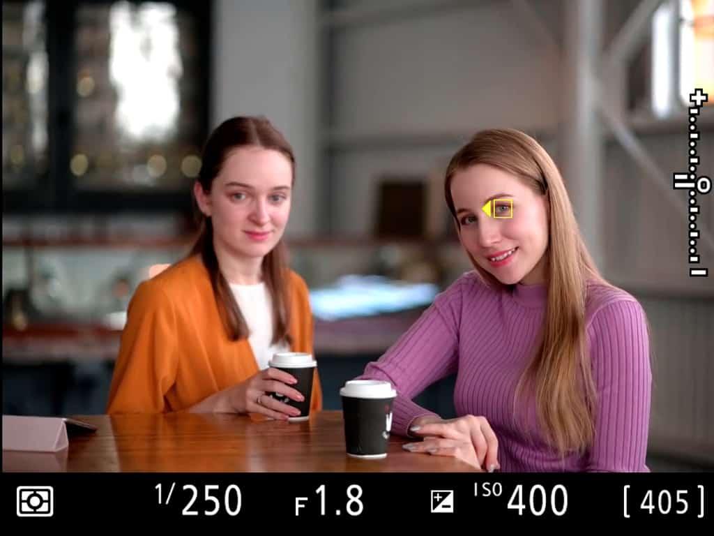 Autoenfoque ocular en Nikon Z6 y Z7.