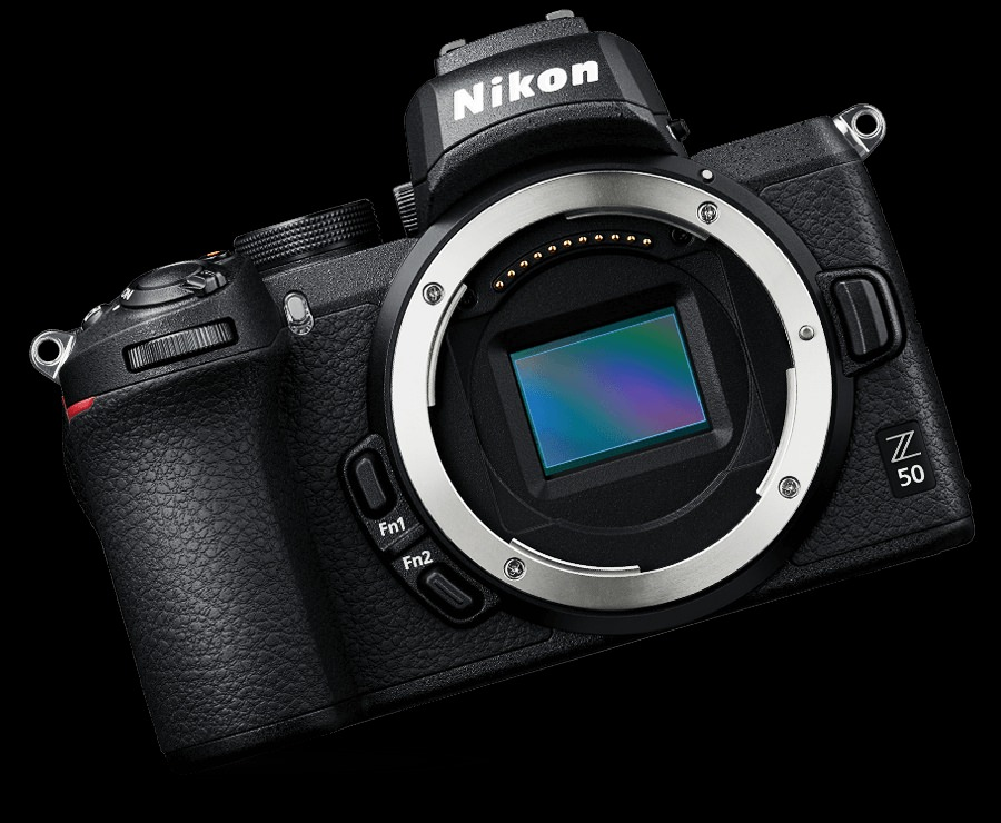 Nikon Z50 sensor APS-C.