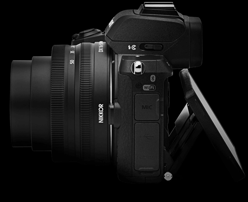 Nikon Z50 pantalla abatible.