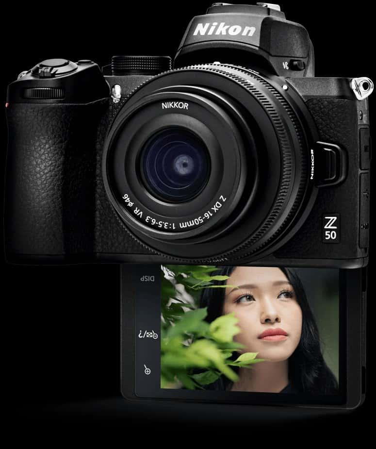 Nikon Z50 selfie.