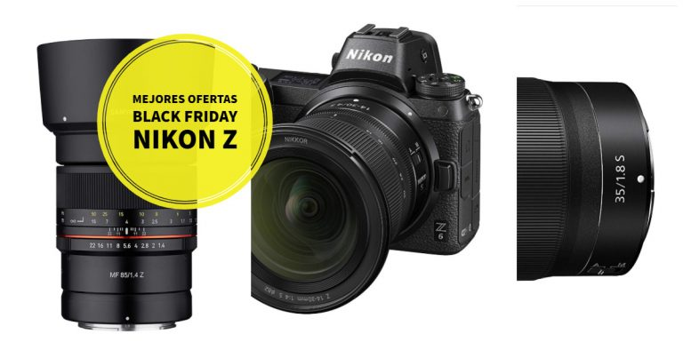 Black Friday: las mejores ofertas para Nikon Z