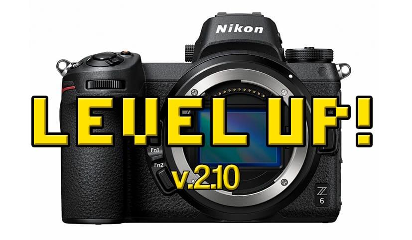 Firmware 2.10 para Nikon Z6 y Z7.