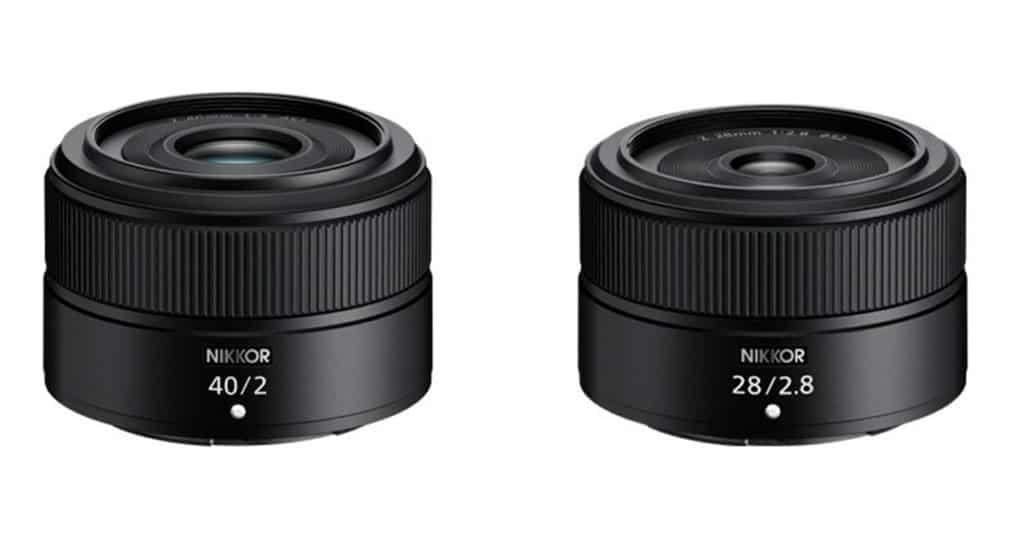 Nikkor Z 28mm f/2.8 y Z 40mm f/2.