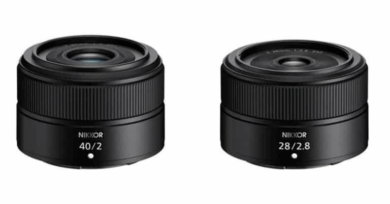 ¿Están al caer los Nikkor Z 28mm f/2.8 y Z 40mm f/2?