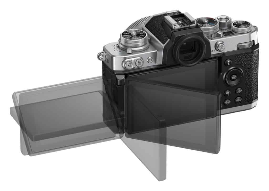 Pantalla articulada de la Nikon ZFC.