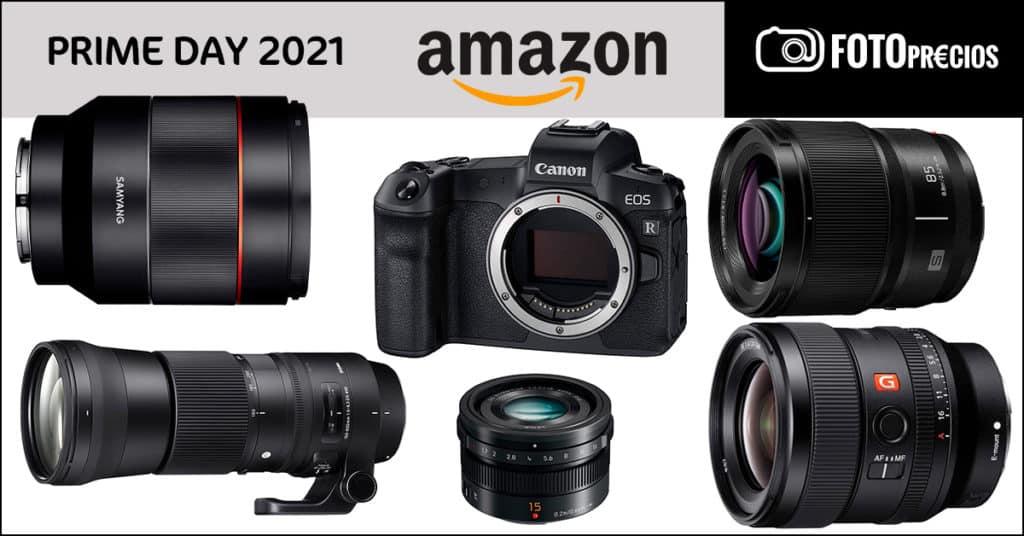 FotoPrecios mínimos del PrimeDay 2021 fotográfico en Amazon.